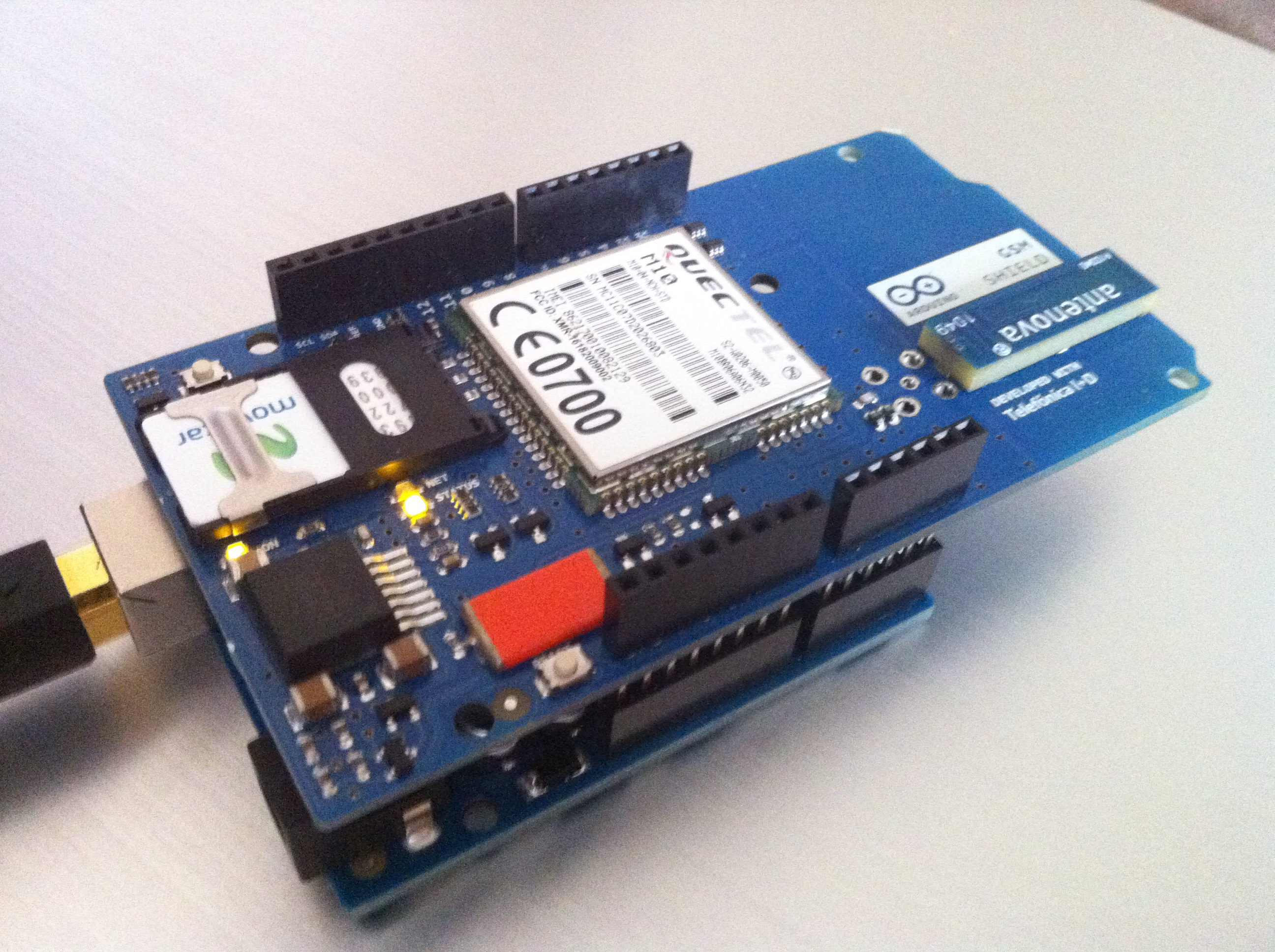 Communication tool for arduino gprs sheilds m msupport