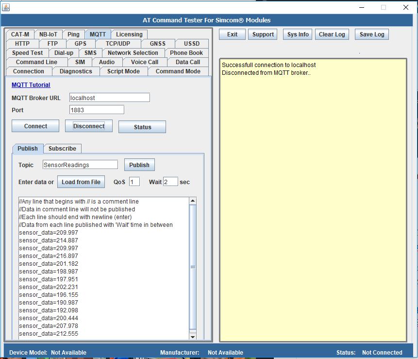 MQTT – Connect to Mosquitto broker on local Windows machine